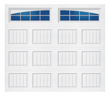 Tri-Tech Carriage Panel Arched Stockton-S