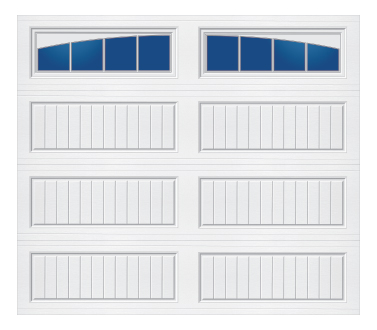 Tri-Tech Cottage Panel Arched Stockbridge-S