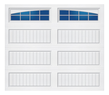Tri-Tech Cottage Panel Arched Stockton-S