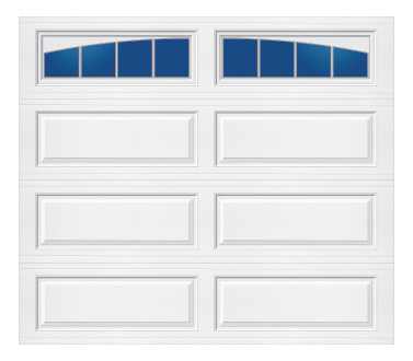 Tri-Tech Ranch Panel Arched Stockbridge-S