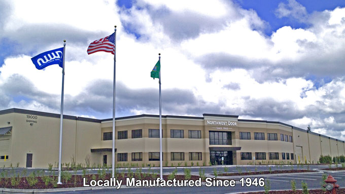 Backed By Northwest Door, Inc. Manufacturing Division